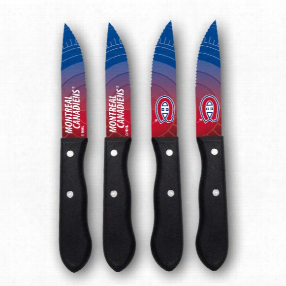 Montreal Canadiens Steak Knives (4-piece Set)