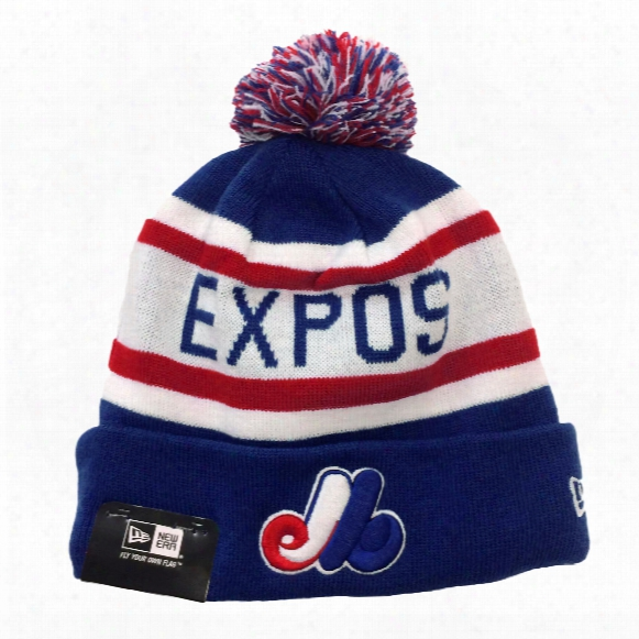 Montreal Expos Biggest Fan Redux Knit Hat