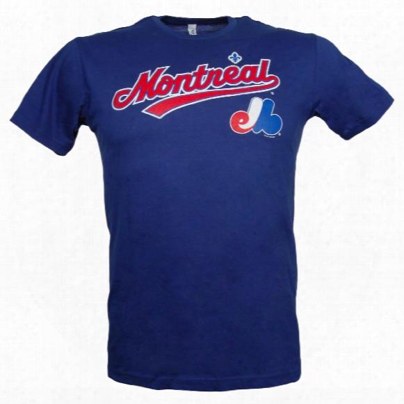Montreal Expos City Pride Script T-shirt