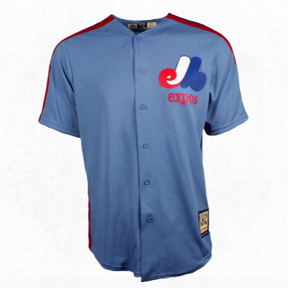 Montreal Expos Cool Base Cooperstown Replica Road Fan Baseball Jersey