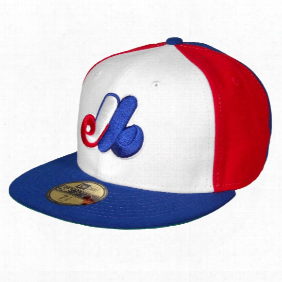 Montreal Expos Cooperstown Fitt Ed Game Mlb Baseball Cap
