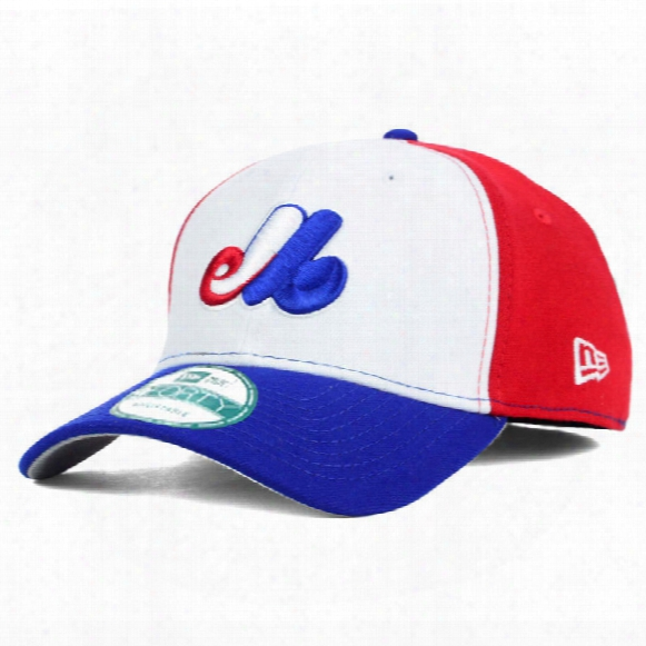Montreal Expos Mlb 9forty Pinch Hitter Tri-color Cap