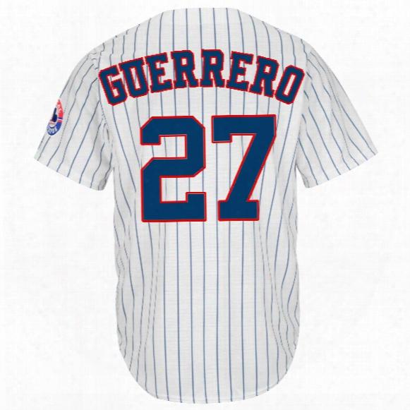 Montreal Expos Vladimir Guerrero Cool Base Cooperstown Replica Home Fan Baseball