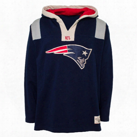 New England Patriots Nfl Option Heavyweight Hoodie