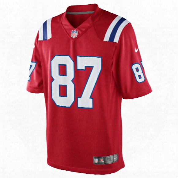 New England Patriots Rob Gronkowski Nfl Nike Limited Team Classic Jersey (red)