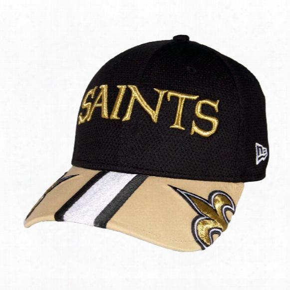 New Orleans Saints Helmet Hit Visor 39thirty Cap