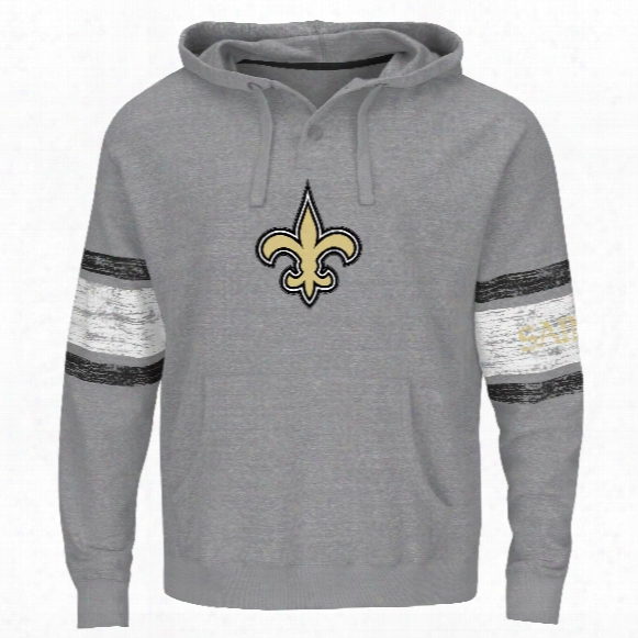 New Orleans Saints Winning Method Nfl Hoodie (gray Gnarly)