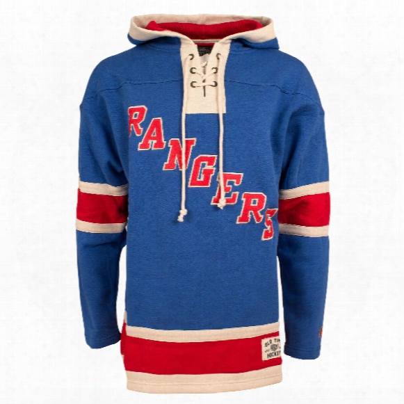 New York Rangers Heavyweight Jersey Lacer Hoodie