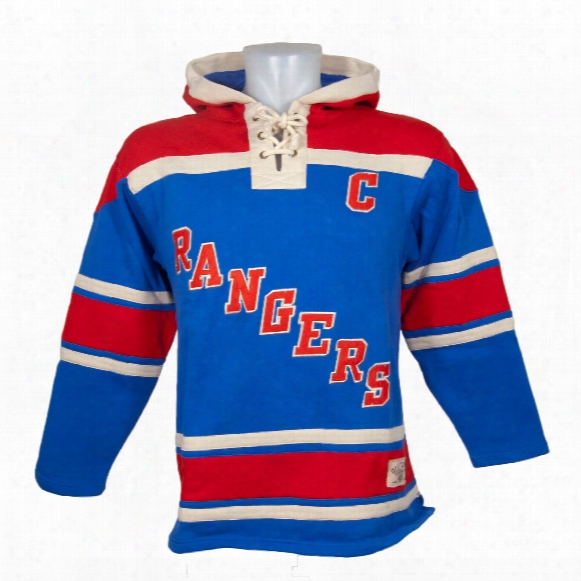 New York Rangers Mark Messier Vintage Alumni Lacer Heavyweight H Oodie