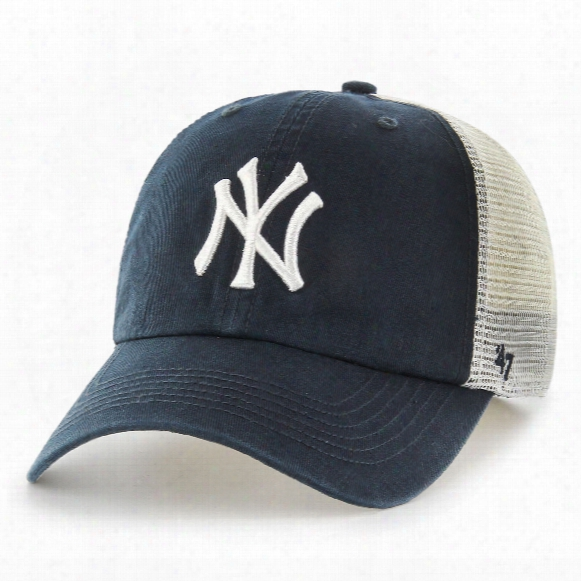 New York Yankees Blue Hill Closer Flex Fit Cap