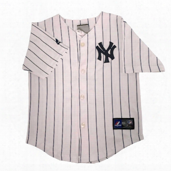 New York Yankees Majestic Child Home Replica Baseball Jersey