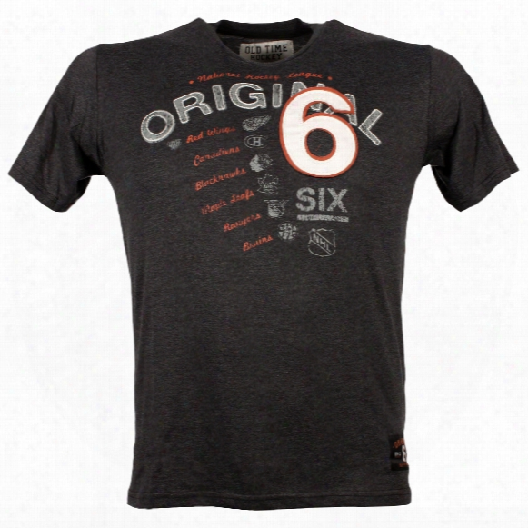 Nhl Original 6 Blanca T-shirt
