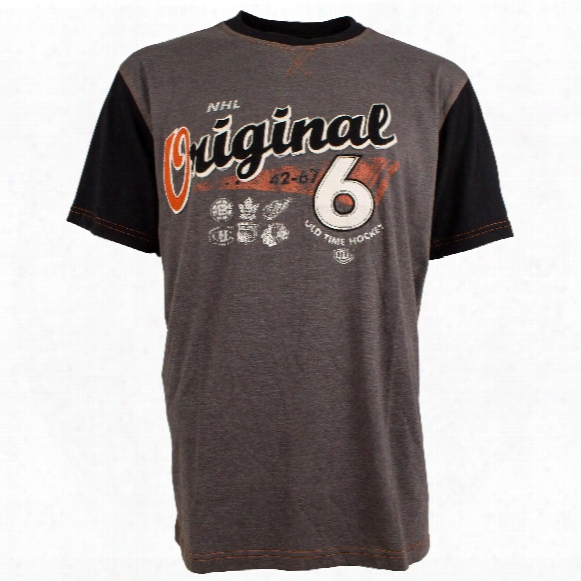 Nhl Original 6 Rayle Raglan T-shirt