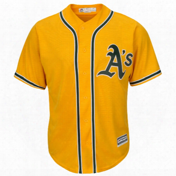 Oakland Athletics 2017 Cool Base Replica Alternate 2 Mlb Baseball Jersey