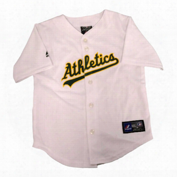 Oakland Athletics Majestic Child Home Replica Baseball Jersey