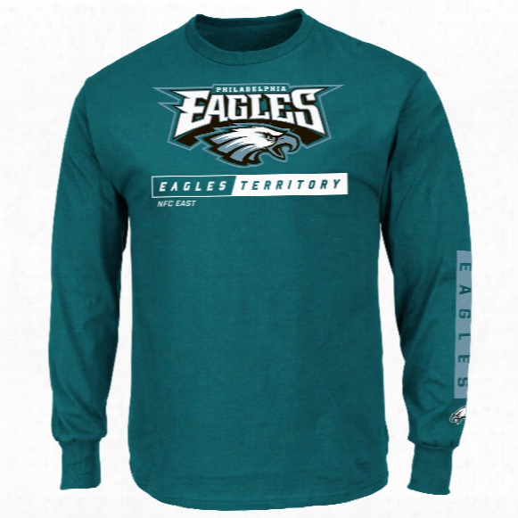 Philadelphia Eagles 2016 Primary Receiver Long Sleeve Nfl T-shirt