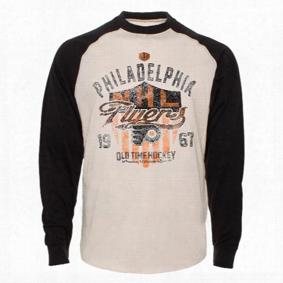 Philadelphia Flyers Camp Raglan Long Sleeve Jersey T-shirt