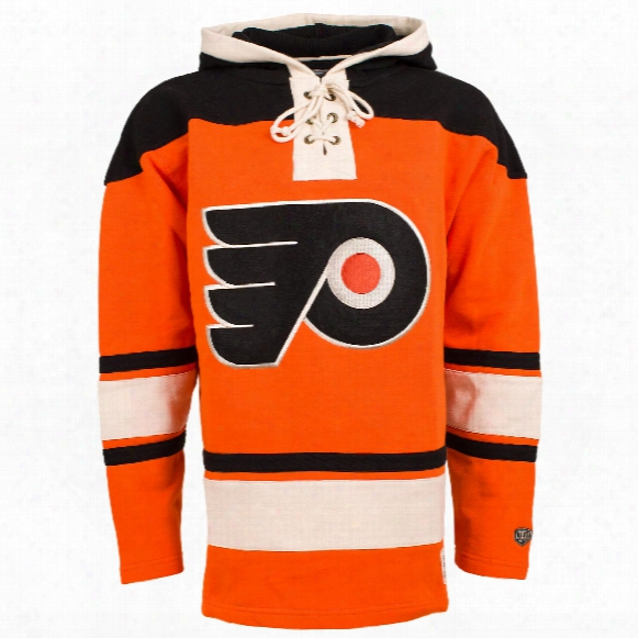 Philadelphia Flyers Heavyweight Jersey Alternate Lacer Hoodie