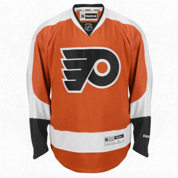 Philadelphia Flyers Reebok Premier Replica Home Nhl Hockey Jersey