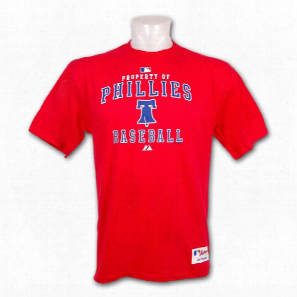 Philadelphia Phillies Authentic Collection *property Of* T-shirt