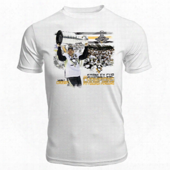 Pittsburgh Penguins 2016 Stanley Cup Champions Fx Kewl-dry Hoist The Cup T-shirt
