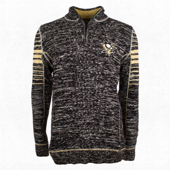Pittsburgh Penguins Preciion Plated 7 Gauge Sweater