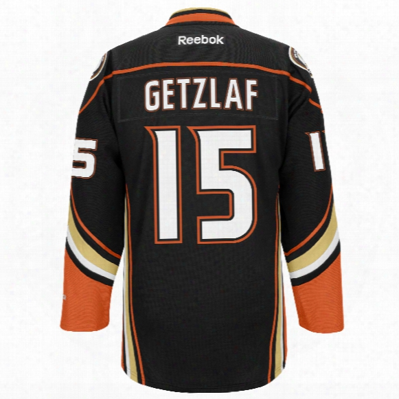 Ryan Getzlaf Anaheim Ducks Reebok Premier Replica Home Nhl Hockey Jersey