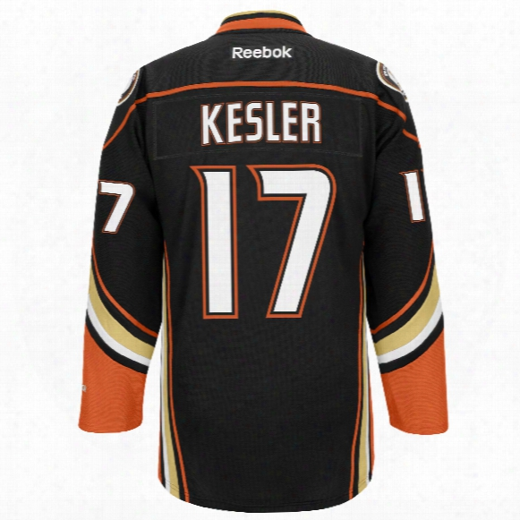 Ryan Kesler Anaheim Ducks Reebok Premier R Eplica Home Nhl Hockey Jersey