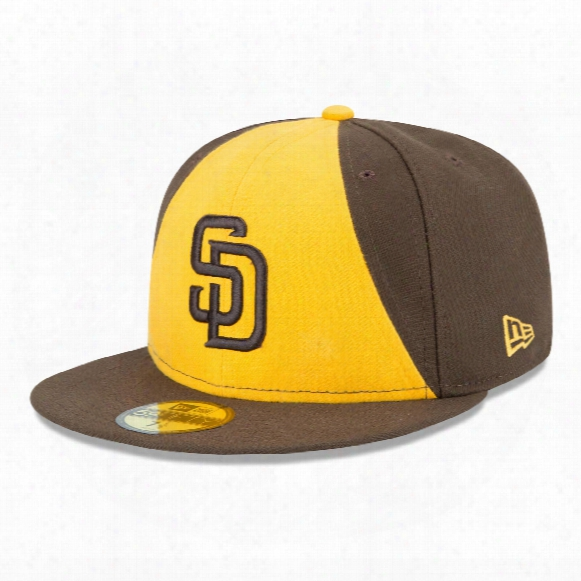 San Diego Padres 2017 59fifty Authentic Fitted Performance Alternate 2 Mlb