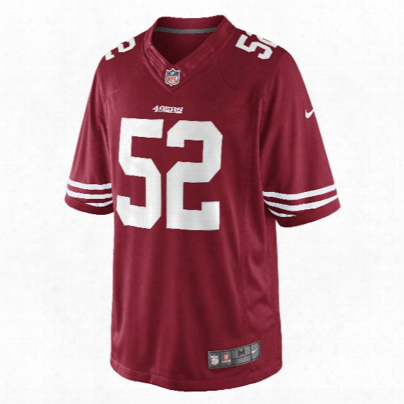 San Francisco 49ers Patrick Willis Nfl Nike Limited Team Jersey