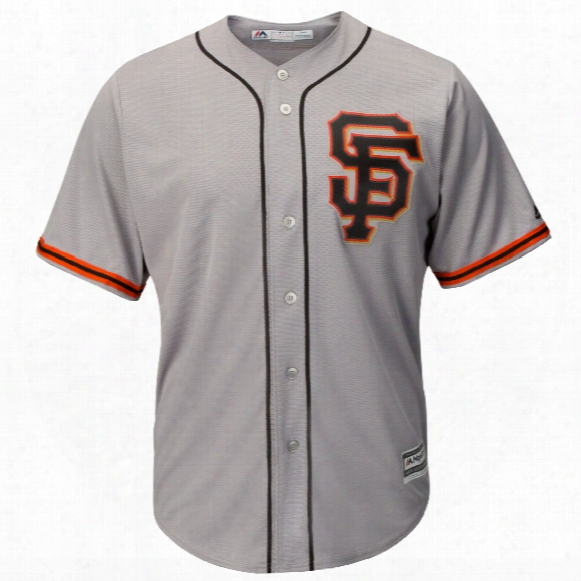 San Francisco Giants 2017 Cool Base Replica Road 2 Mlb Baseball Jersey