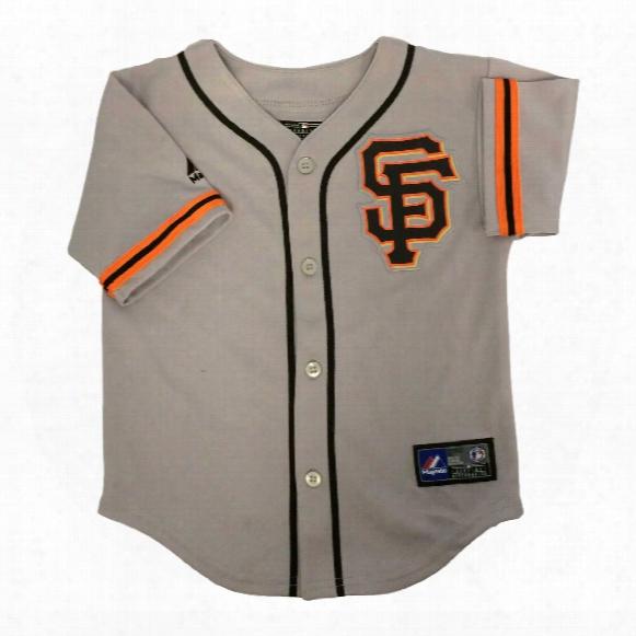 San Francisco Giants Majestic Child Road Replica Baseball Jersey