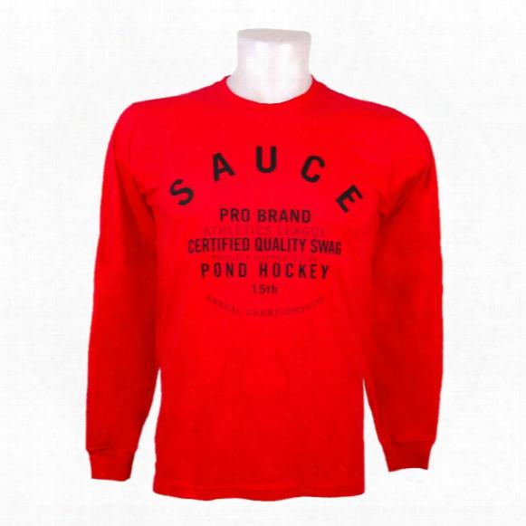 Sauce Dog Collar Long Sleeve T-shirt