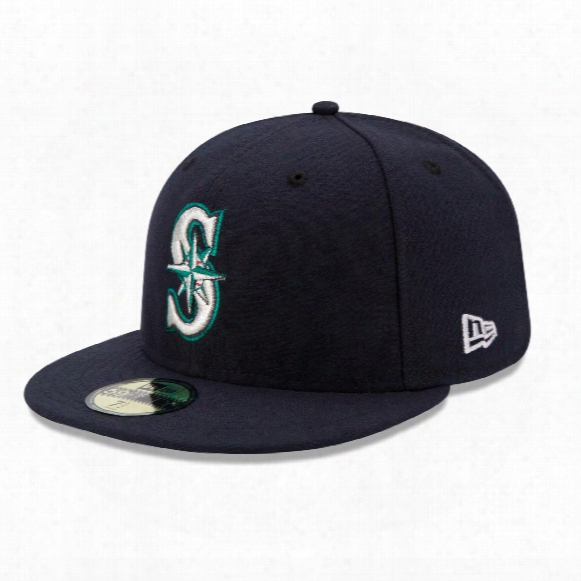 Seattle Mariners 2017 59fifty Authentic Fitted Performance Game Mlb Baseball Cap