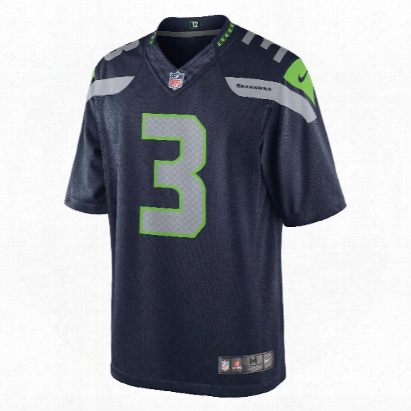 Seattle Seahawks Russell Wilson Nfl Nike Limited Team Jersey
