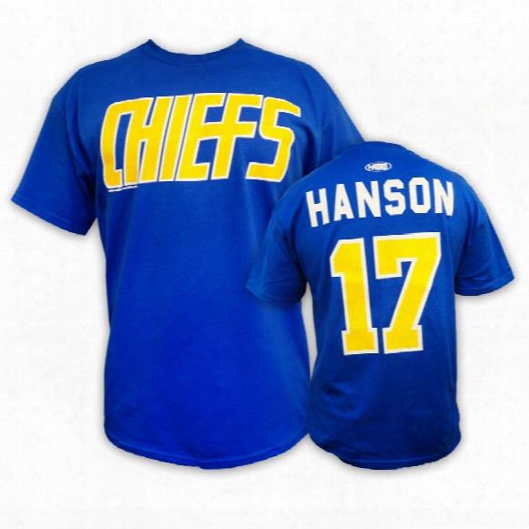 *slapshot* Charleston Chiefs #17 Steve Hanson T-shirt