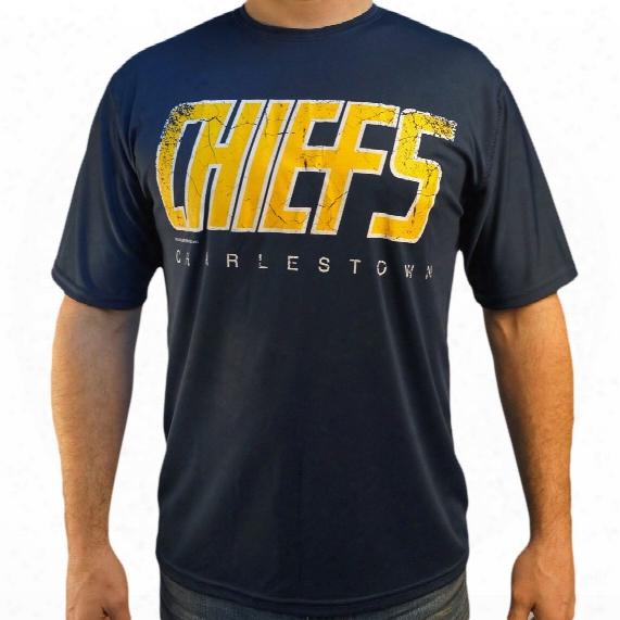 *slapshot* Charlestown Chiefs Dry-fit T-shirt