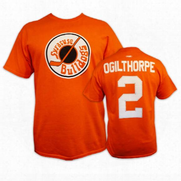 *slapshot* Syracuse Bulldogs Ogie Ogilthorpe T-shirt