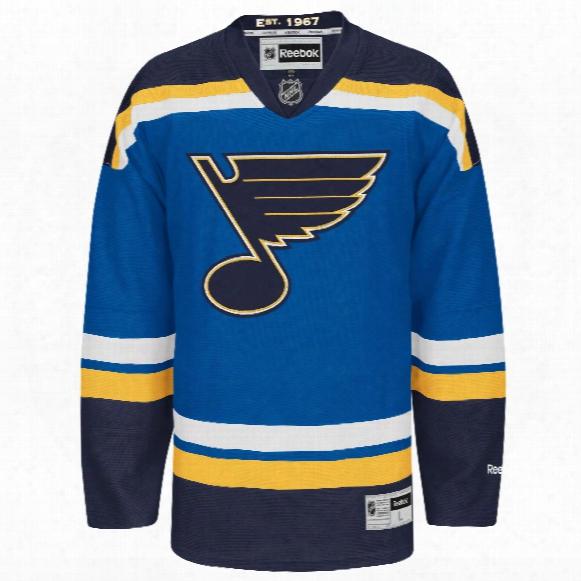 St. Louis Blues Reebok Premier Replica Home Nhl Hockey Jersey