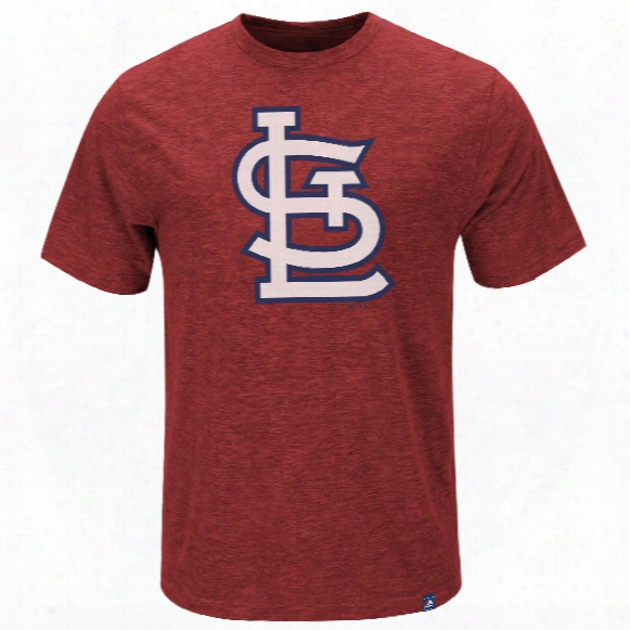 St. Louis Cardinals Mental Metal Slub T-shirt