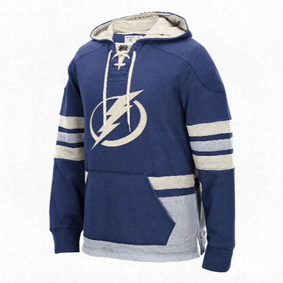 Tampa Bay Lightning Ccm Pullover Lace Hoodie