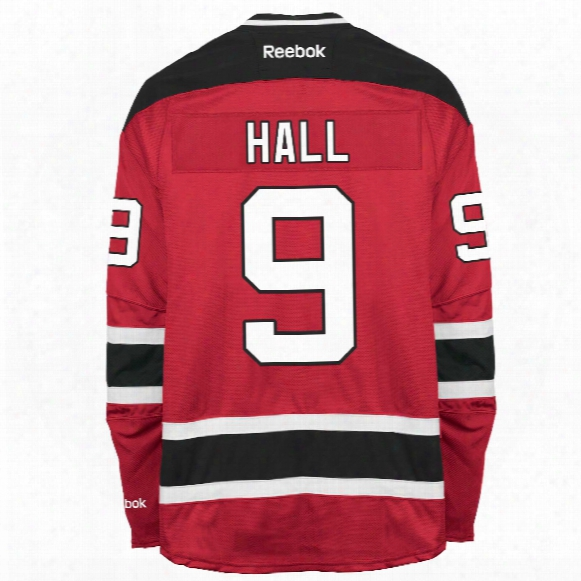 Taylor Hall New Jersey Devils Reebok Premier Replica Home Nhl Hockey Jersey