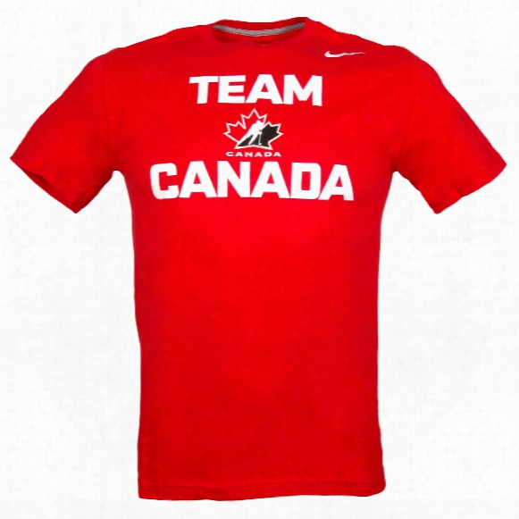 Team Canada Iihf Practice T-shirt (red)