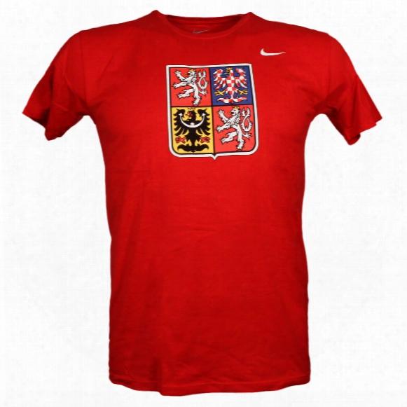 Team Czech Iihf Logo T-shirt