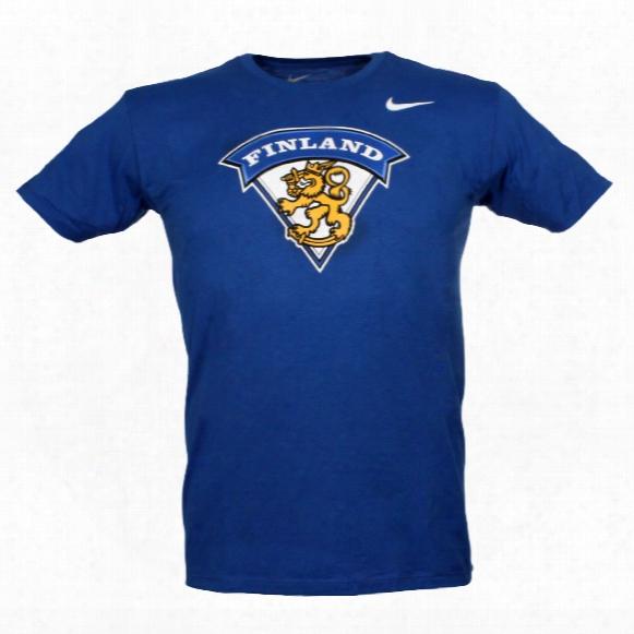 Team Finland Iihf Logo T-shirt