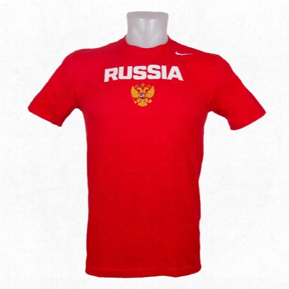 Team Russia Iihf Practice T-shirt