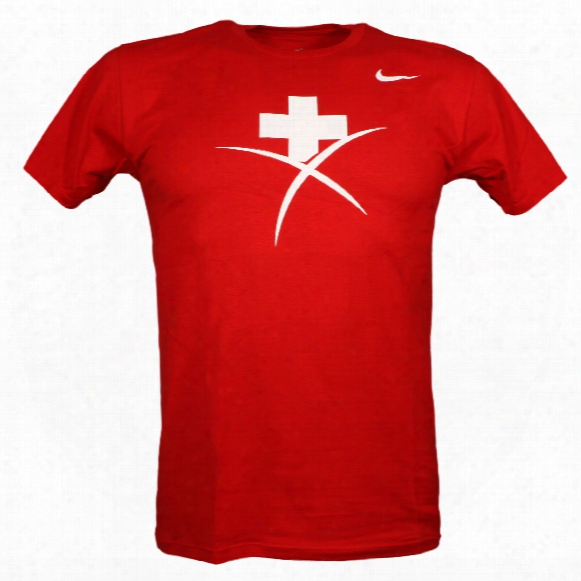 Team Swiss Iihf Logo T-shirt