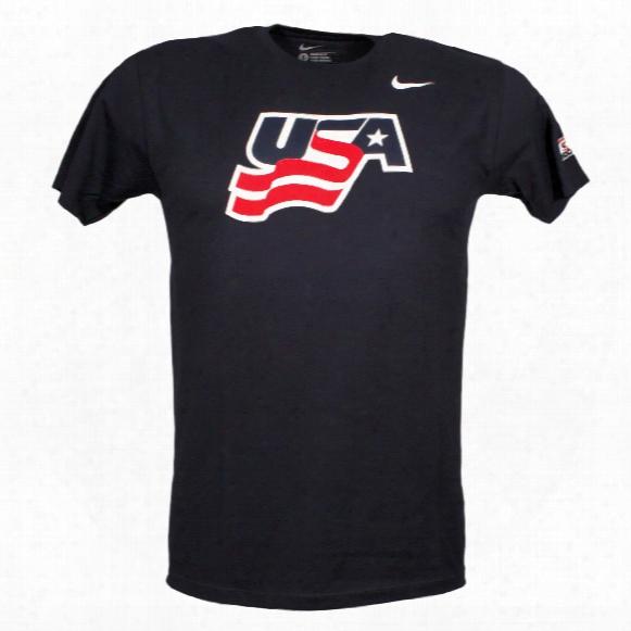 Team Usa Iihf Logo T-shirt