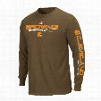 Cleveland Browns Primary Receiver Long Sleeve NFL T-Shirt
