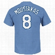Kansas City Royals Mike Moustakas MLB Player Name & Number T-Shirt (Coastal